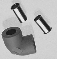 Svařovací kolínko PB      17x2,5 mm